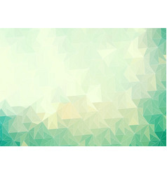 emerald green abstract gradient background with vector image