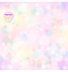 soft colored abstract background Elegant abstract vector image