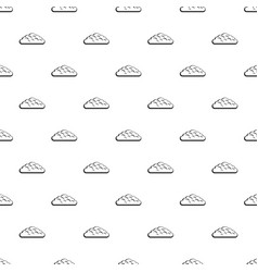 Spring cloud pattern vector
