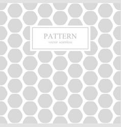 hexagon seamless geometric pattern vector image