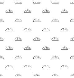 Autumn cloud pattern vector