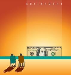 beach people Retire vector image