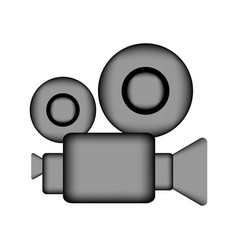Camera sign icon vector