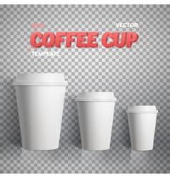 Coffee Cup Coffee Cup Mockup vector image