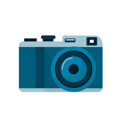 Cute digital camera to take a picture vector