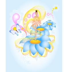 Fairytale Ballet vector image