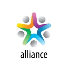 Logo alliance vector