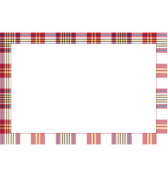 Rectangle borders and frames border pattern vector
