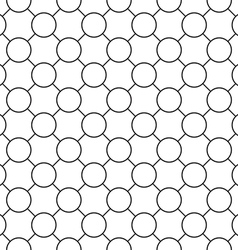 Round simple seamless pattern diagonal vector image