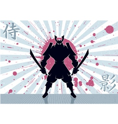 Samurai Background vector