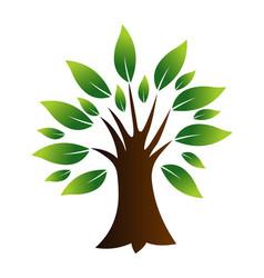 Tree icon logo vector