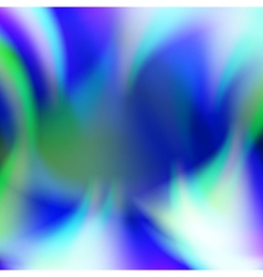 Abstract blue flame fire background vector image