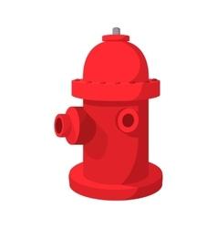 Fire hydrant cartoon icon vector image vector image