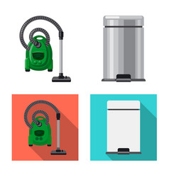 Design of cleaning and service icon vector
