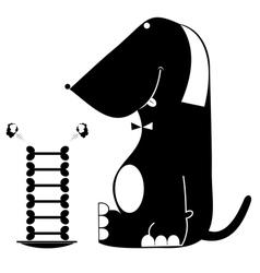 Dog food vector