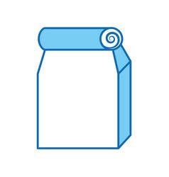 lunch bag in paper bag vector image