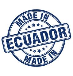 Made in ecuador vector