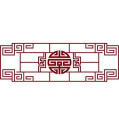 oriental design element vector image