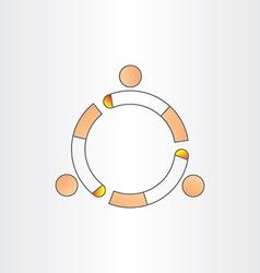 Permitting smoking smokers place icon vector