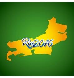 Rio 2016 design vector