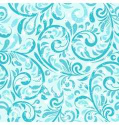 Seamless winter pattern vector