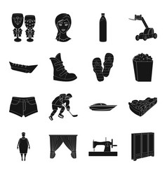 sports medicine travel and other web icon in vector image