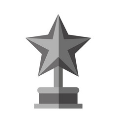 Star trophy icon imag vector