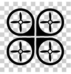 nanocopter icon vector image vector image