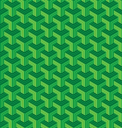 Abstract polygon stripes seamless pattern vector image vector image