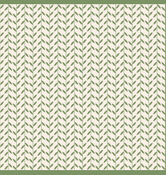simple pattern with leaves vintage vector image