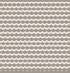 Wavy rows seamless pattern vector