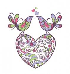 spring illustration vector image
