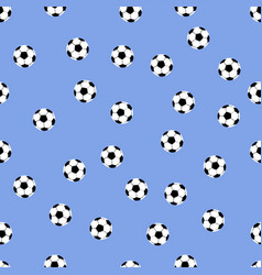 background of soccer balls vector image vector image