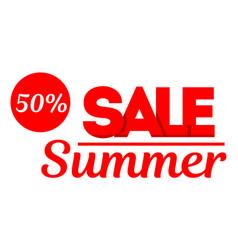 sale banner special offer big sale discount up vector image