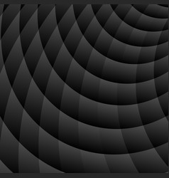 Abstract black perspective background vector