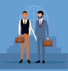 Business people avatar vector