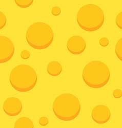 Cheese Seamless Pattern Background with Food vector image