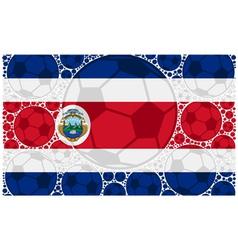 Costa Rica balls vector