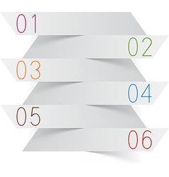 Infographics white paper design vector
