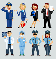 People of different professions vector