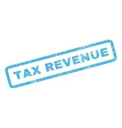 Tax revenue rubber stamp vector