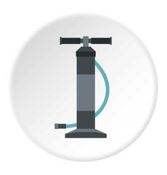 automotive pump icon circle vector image
