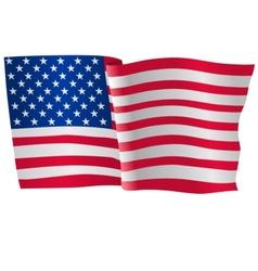 Flag of USA vector
