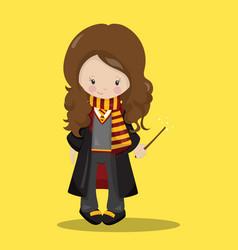 harry potter hermione 02 vector image