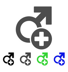 male medicine icon vector image