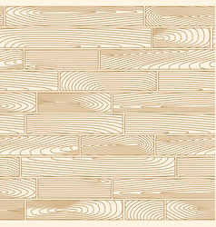 Seamless linear wooden planks pattern vector