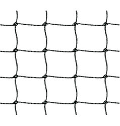 Seamless pattern of soccer goal net or tennis net vector