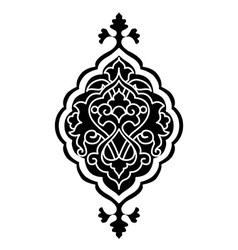 Artistic ottoman pattern series sixty eight vector
