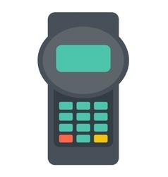 Credit card reader vector image