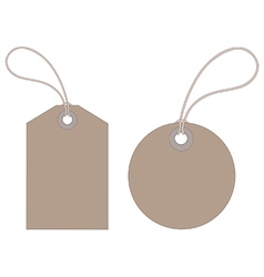 Luggage tags vector